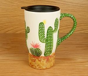 Provo Cactus Travel Mug