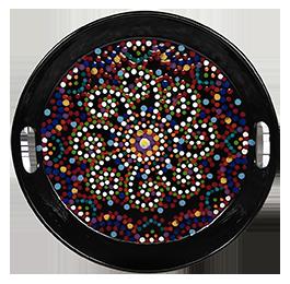 Provo Mosaic Mandala Tray