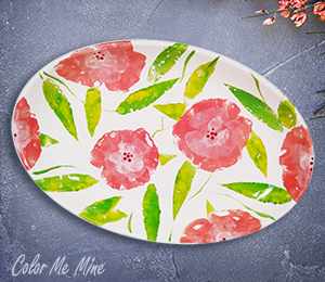 Provo Floral Paper Stamping