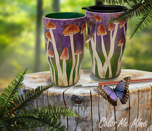 Provo Mushroom Mugs