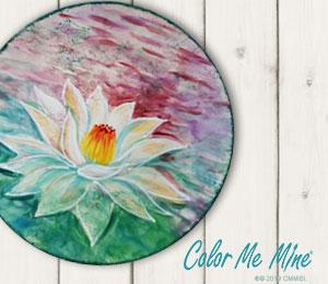 Provo Lotus Flower Plate